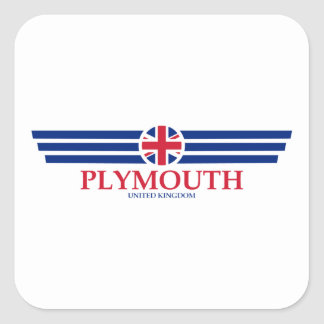 Plymouth Square Sticker