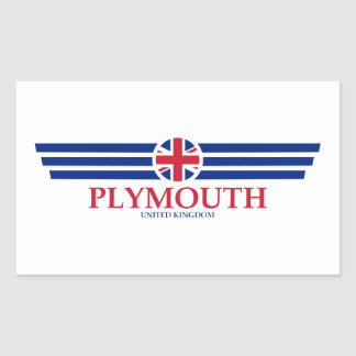 Plymouth Sticker