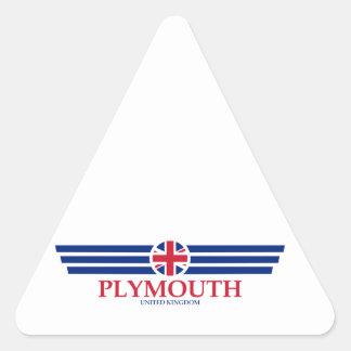 Plymouth Triangle Sticker