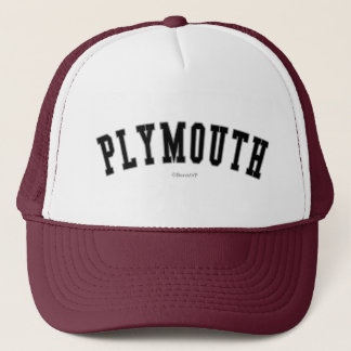 Plymouth Trucker Hat