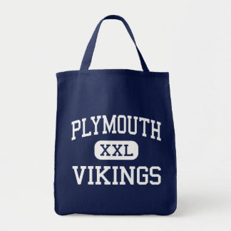 Plymouth - Vikings - High - Plymouth Tote Bag