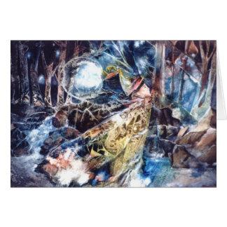 PMACarlson Birdman in the Woods Card