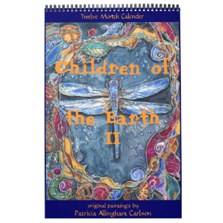 PMACarlson Children of the Earth II Calender Wall Calendars