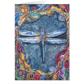 PMACarlson Copper Dragonfly Card