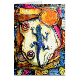 PMACarlson Gecko Card