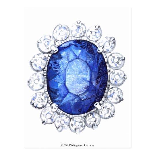 PMACarlson Royal Sapphire Postcard