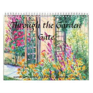 PMACarlson Through the Garden Gate Calender Calendars