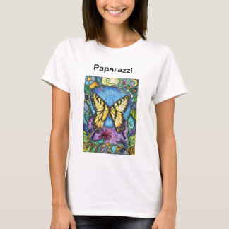 PMACarlson Tiger Butterfly Paparazzi T T-Shirt