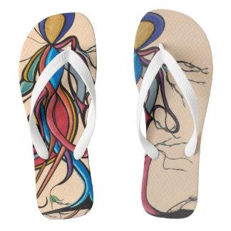 Pneuma dancing in flip flops