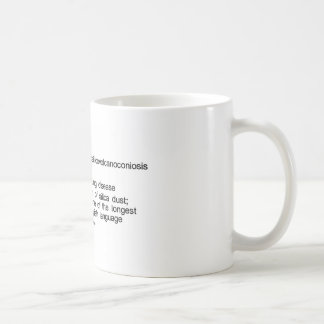 Pneumonoultramicroscopicsilicovolcanoconiosis Coffee Mug