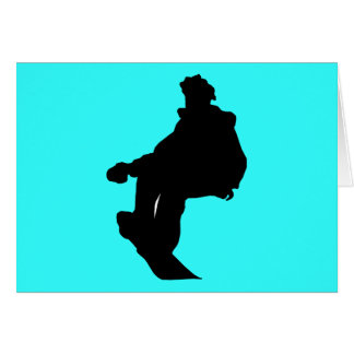 PNG_90_492007 SNOWBOARDER SPORTS FITNESS ACTIVITY GREETING CARD