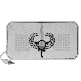 PNP Special Action Force Badge without Text Speaker