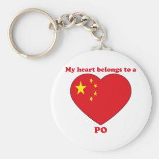 Po Keychain