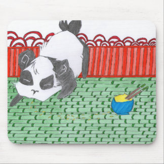 Po, our small panda of China Mouse Pad