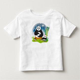 Po Ping and Bao Pose Toddler T-shirt