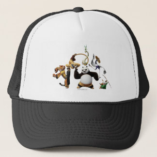 Po Ping and the Furious Five Trucker Hat