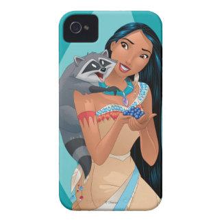 Pocahontas and Meeko iPhone 4 Cases