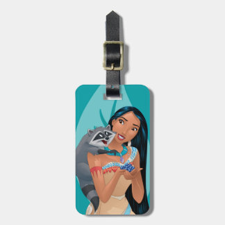 Pocahontas and Meeko Luggage Tag