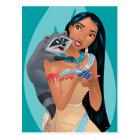 Pocahontas and Meeko Postcard