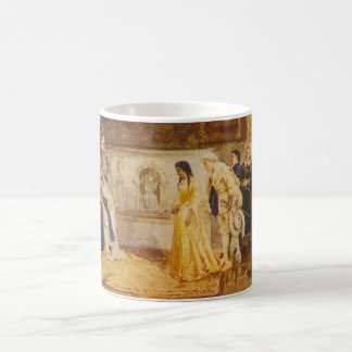 Pocahontas at the Court of King James by Rummels Coffee Mug
