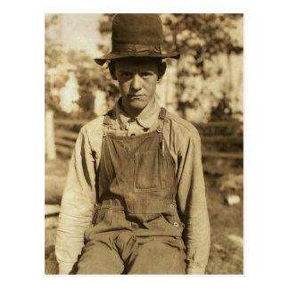 Pocahontas County Student, 1920s Postcard