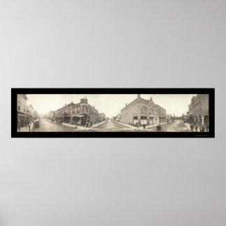 Pocatello Idaho Photo 1909 Poster