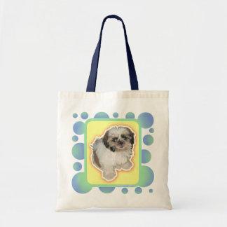 Pochi Cute Puppy Eye Tote Bag