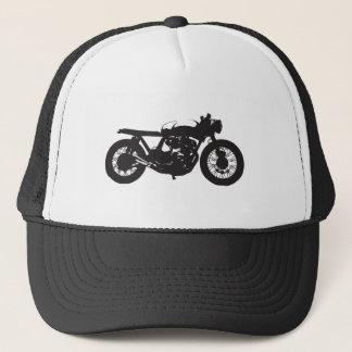 Pochoir de cool de cru de moto de coureur/gosse de casquette