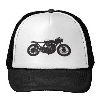Pochoir de cool de cru de moto de coureur/gosse de casquettes