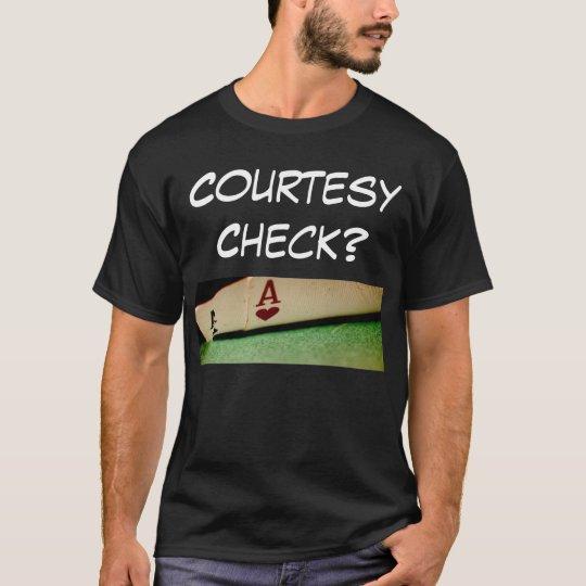 Pocket_Aces_Crop, Courtesy Check? T-Shirt
