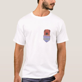 Pocket Border Terrier T-Shirt