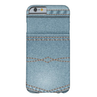 Pocket Denim Blue Jeans Barely There iPhone 6 Case