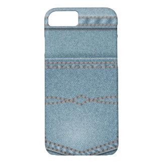 Pocket Denim Blue Jeans iPhone 7 Case