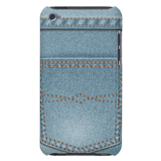 Pocket Denim Blue Jeans iPod Touch Cover
