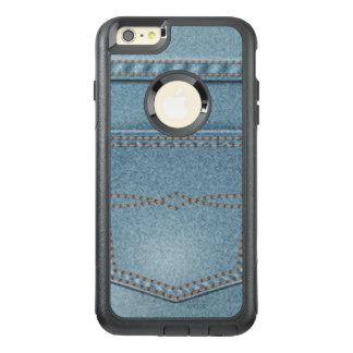 Pocket Denim Blue Jeans OtterBox iPhone 6/6s Plus Case