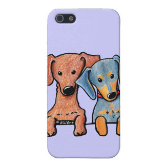 Pocket Doxie Duo iPhone 5 Covers