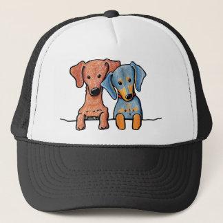 Pocket Doxie Duo Trucker Hat