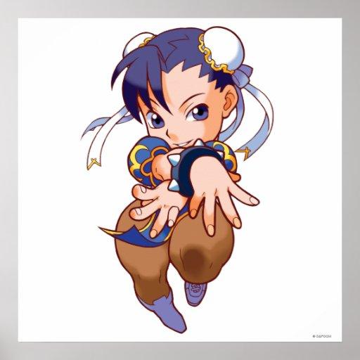 Pocket Fighter Chun-Li Print