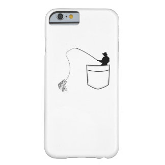 Pocket Fishing  Funny Gift Fisherman Barely There iPhone 6 Case
