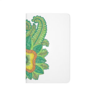 Pocket flower journal