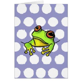 Pocket Frog Card