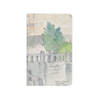 Pocket Journal Chateau of Blois Sketch Watercolor