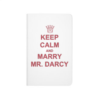 Pocket Journal - Keep Calm and Marry Mr. Darcy