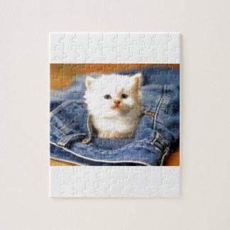Pocket Kitten Jigsaw Puzzle