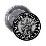 pocket Odin Shield on Blk Pins