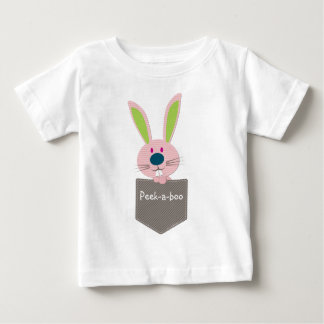 POCKET PALS :: Bunny Rabbit 1 Baby T-Shirt