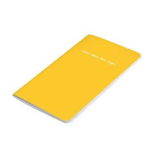 Pocket Schrift uni Geel Journal