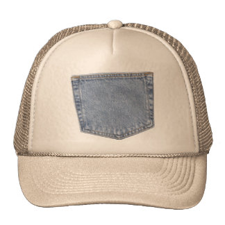 pocket trucker hat