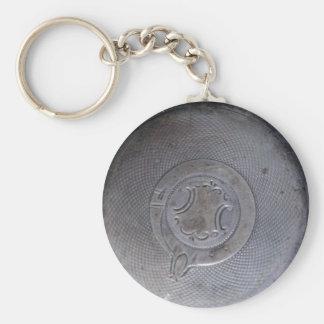 Pocket Watch Key Chain
