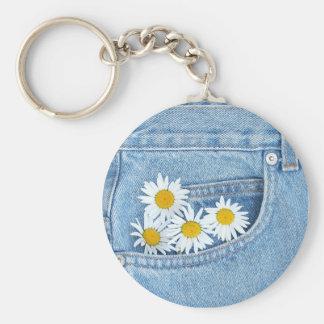 Pocketful of daisies keychain